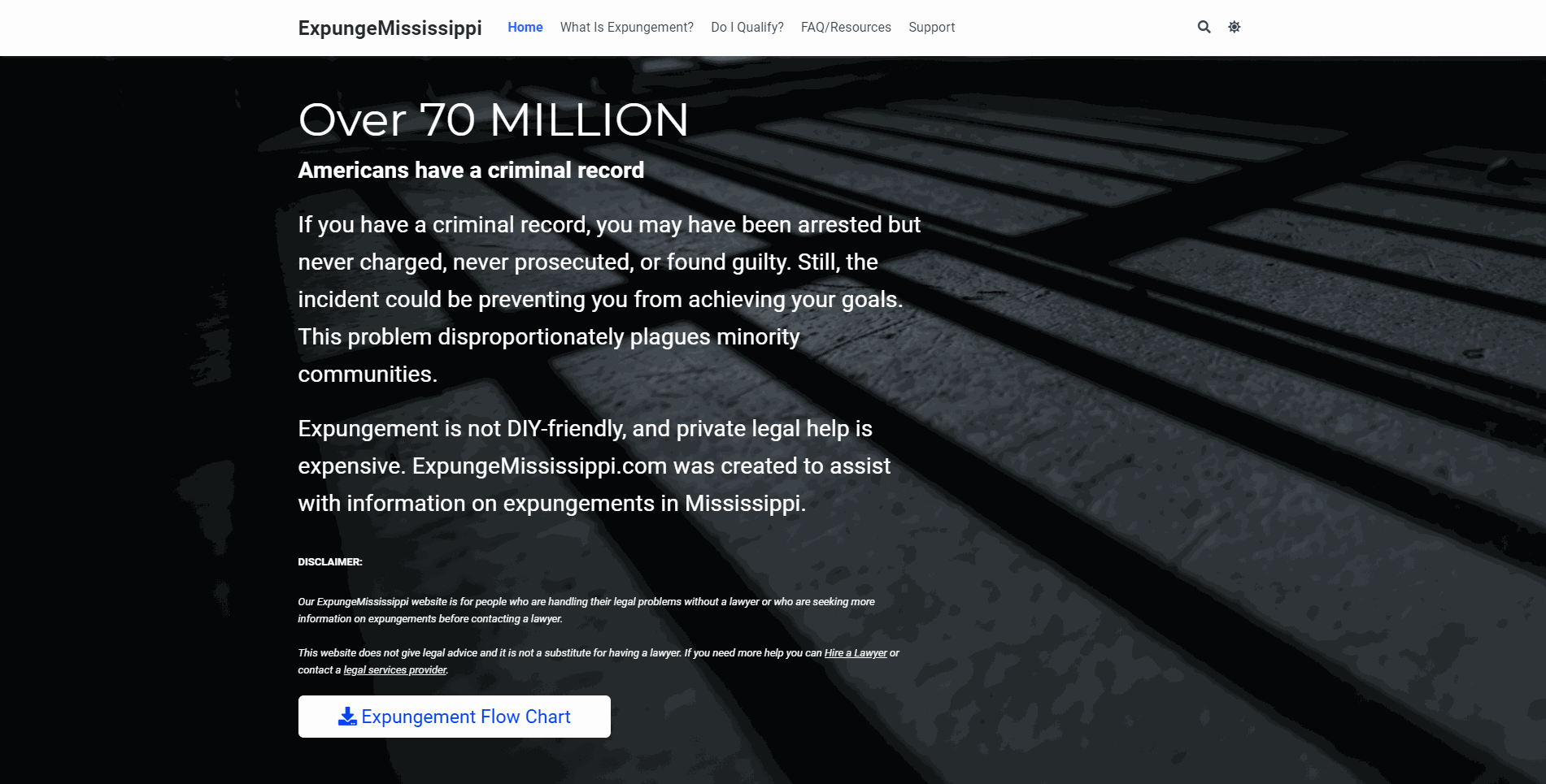 Criminal Record Expungement in Mississippi